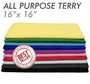 All-Purpose Microfiber Terry Towel Green 41 x 41см