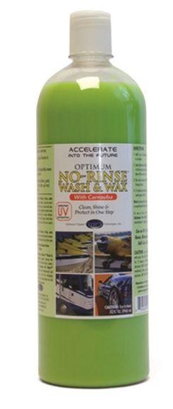 Optimum No Rinse Wash & Wax 950ml